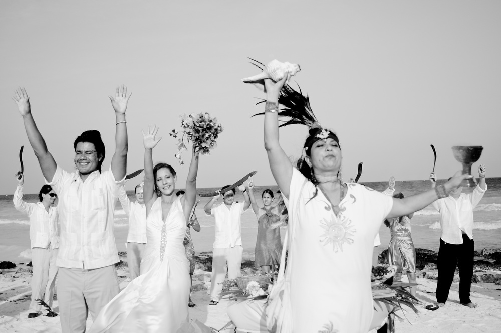 mayan ceremony tulum wedding