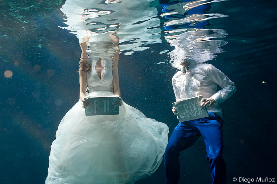 underwater trash the dress photographer